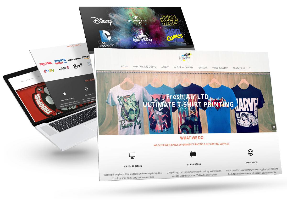 Freelance Web Designer in London  - Marco Mattiello Portfolio