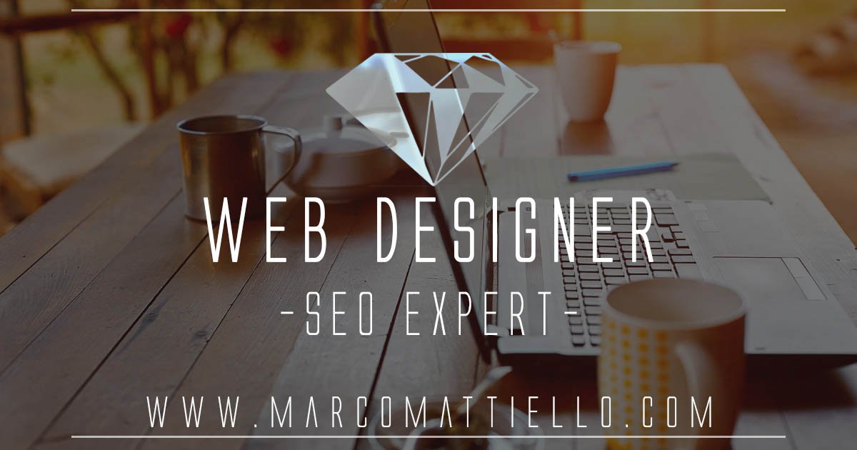 Marco Mattiello Freelance Web Designer and Shopify Expert